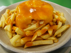Francesinha, Porto (ydcheow87) Tags: europe portugal porto francesinha sandwich fries