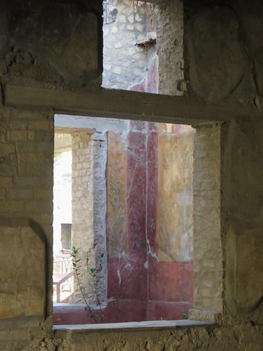 Salons de l'époque impériale, Villa de Poppée, Oplontis, Torre Annunziata, Campanie, Italie.
