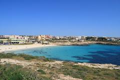 La spiaggia della Guitgia a Lampedusa (Ernesto Imperato - Firenze (Italia)) Tags: guitgia lampedusa sicilia italia spiaggia isola mediterraneo 2009