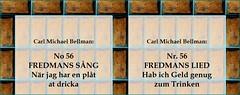 Carl Michael Bellman: No. 56 Fredmans Sang => Fredmans Lied => Fredman's Song - 1 (Walter A. Aue) Tags: carlmichaelbellman no56fredmanssang fredmanslied fredmanssong screenshot swedishgermanenglish germantranslationdrgehardmiksche lyrik poetry gedicht literature