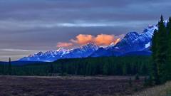 Morning mountains (virgil martin) Tags: mountains clouds landscape peterlougheedprovincialpark alberta canada panasoniclumixfz1000 oloneo gimp