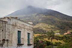Stromboli 7 (gsamie) Tags: 600d aeolianislands canon guillaumesamie isoleeolie italy rebelt3i sicilia sicily stromboli vulcano architecture clouds gsamie lava mountain volcano windows italie it
