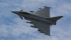 BAe Eurofighter Typhoon FGR4 ZK356 (benji1867) Tags: bae eurofighter typhoon fgr4 zk356 ef2000 tarnish raf warton test pilot nat makepeace riat iat fairford royal international air tattoo force avgeek avporn aviation fly flight flying sales canon 7d2 2016 16 flypast display airshow show bomb bombs fluff totterdown