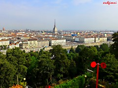 colors of Turin (archgionni) Tags: city buildings strade streets case panorama landscape cityscape tetti roofs mole antonelliana torino turin italia italy christiangroup