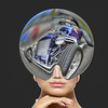 What's On Your Mind (swong95765) Tags: virtual reality helmet woman female hotrod sensations senses feel feeling