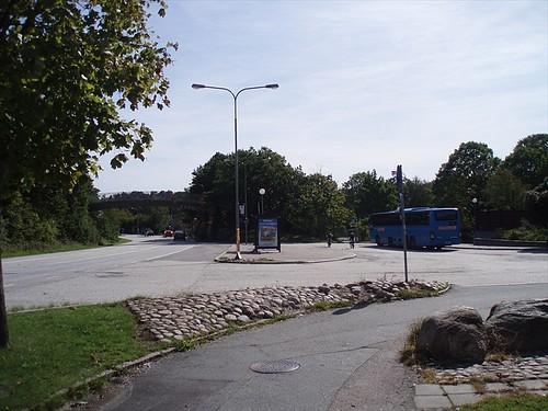 Busshållplats Torslanda torg, Kongahällavägen, Torslanda, 2008