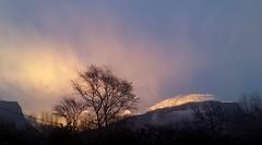 Lumière du soir sur Montaud ..... #vercors #montagne (dege.guerin) Tags: vercors montagne