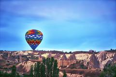 turki (sandilesmana28) Tags: turki air balloon herritage colourfull blue aerial