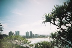 gold coast, november 2014 (kodacolorframes) Tags: lomo lca 35mm film analogue kodacolorframes beach goldcoast queensland fujiproplusii100