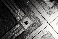 Floor tiles HMM! (vinnie saxon) Tags: macro macromondays hmm floor tiles corner nikoniste nikon d600 monochrome blackandwhite
