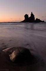 Silk Sunset (gjaviergutierrezb) Tags: silk long exposure water sea rocks rock benijo santa cruz de tenerife canary islands