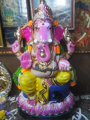 20140829_105615 (bhagwathi hariharan) Tags: ganpati ganpathi lordganesha god nallasopara nalasopara pooja idols