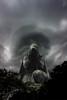 Desolación (| Photograper | Digital Artist |) Tags: cementerio estatua desolaciona soledad cloud strom dark opscuriadad oscura cielo nubes tormenta wow me