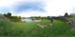 grapestomppondPanorama (johnfpalm2) Tags: st josefs winery grape stomp pond amphitheater