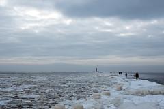 Pier (`TOMS`) Tags: riga latvia latvija lettland pier winter ice cold water baltic sea daugava sky clouds landscape outdoor nature nikon d3200 nikkor 35mm afsdxnikkor35mmf18g air shore coast seaside