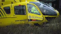 North West Air Ambulance, Grane Road, Haslingden (mrrobertwade (wadey)) Tags: helimed 08 eurocopter 135 wadeyphotos mrrobertwade rossendale lancashire robertwade haslingden grane bond aviation services