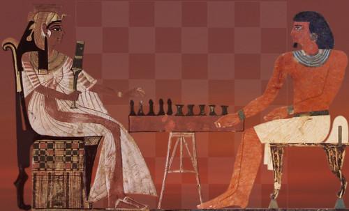 "Senet - Lujoso sistema de objetos lúdicos obsequio del dios Toht a la faraona Nefertari • <a style=""font-size:0.8em;"" href=""http://www.flickr.com/photos/30735181@N00/32369505462/"" target=""_blank"">View on Flickr</a>"