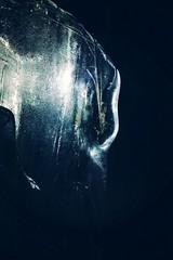 Vieraan viime katse - Last Glance of the Alien (Lauri S Laurén) Tags: ice afterprocessing afterprocessed lightpainting lightart shore shape lake tuusula tuusulanjärvi nightphoto night naturephoto nature suomi finland winter dark blue art photoart outsiderartist form talvi jää