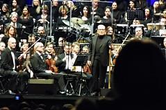 Ennio Morricone in Tauron Arena (Robur Zwyciezca) Tags: ennio morricone kraków tauron