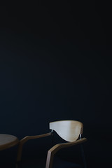 just a chair and table (k.cluchey) Tags: minimal minimalist min minimalism chair table shadow light 3570mm nikkor nikond5200 nikon black background indoor