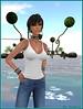 Joly John (Tim Deschanel) Tags: tim deschanel sl second life joly john black kite avatar femme woman