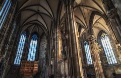 Wiener Neustädter Altar (lncgriffin) Tags: vienna wien austria osterreich europe europa ststephenscathedral wienerneustadteralter triptychs art altar stainedglass architecture cathedral organ travel nikon d750 zeiss distagon distagon2128zf
