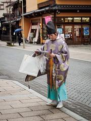 Shintoist priest (thaisa1980) Tags: 2016 shinto shintoist takayama japan japanese japon japonés japón nippon nipponese priest sacerdote sintoismo sintoista