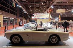 Pegaso Z-102 Spider Serra 1953 (tautaudu02) Tags: auto paris cars spider automobile moto serra coches voitures pegaso 2015 rtromobile z102