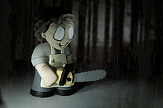 Leatherface - Texas Chainsaw Massacre (Marked_man) Tags: urban cinema monster mystery movie toy scary leatherface vinyl evil mini figure horror collectible funko texaschainsawmassacre blindbox