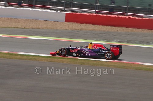 Daniil Kvyat in Free Practice 2 for the 2015 British Grand Prix at Silverstone