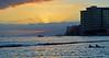 Front Row Seats (jcc55883) Tags: ocean sunset sea sky skyline clouds hawaii nikon waikiki oahu horizon pacificocean nikond3200 d3200 kuhiobeachpark