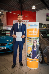 Tiago motability award (Listers Group) Tags: listers automotive car vehicle event audi birmingham solihull stratford coventry nuneaton bmv honda skoda toyota jaguar landrover