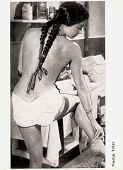Nadja Tiller (Truus, Bob & Jan too!) Tags: cinema film vintage movie star kino erotic european postcard picture cine screen actress movies postal postale cartolina tiller carte austrian nadja postkarte filmstar ansichtskarte ansichtkaart filmster briefkaart tarjet missaustria nadjatiller briefkarte