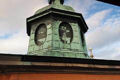 Gammalt koppartak, Kalmar domkyrka (Bochum1805) Tags: church kyrka koppar byggnadsvrd kyrktorn kyrktak koppartak