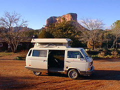 Vanagon Side view open door