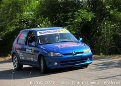 058-DSC_6407 - Peugeot 106 - N2 - Arena Luca-Lo Presti Gianluca - FKP Racing Team piacenza (pietroz) Tags: photo nikon foto photos rally fotos di pietro circuito cremona zoccola pietroz d300s