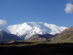 """Another view of Peak Lenin from Achik Tash Base Camp • <a style=""""font-size:0.8em;"""" href=""""http://www.flickr.com/photos/41849531@N04/19834373283/"""" target=""""_blank"""">View on Flickr</a>"""