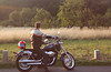 (felix.h) Tags: summer man canon landscape eos evening frankfurt motorbike motorcycle canonefs1855mm frankfurtammain frankfurtmain 400d canoneos400d digitalrebelxti eoskissdigitalx hondavt750s