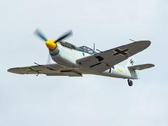 Hispano HA-112-M1L Buchon (lucaban87) Tags: airshow hispano fairford riat buchon ha112 ha112m1l