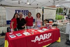 AARP Tent