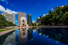 DSC01291 (Damir Govorcin Photography) Tags: reflections water trees buildings architecture sydney cbd war memorial hyde park natural light zeiss 1635mm sony a7ii perspective creative clouds sky