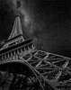 Paris Las Vegas (Color Blind 56) Tags: parislasvegas paris las vegas elements13 lightroom5 d7100 galaxy cb1956 composite nikon night bw