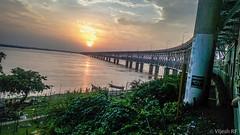 Sunset beauty over River Godavari! (Vijesh Kannan) Tags: rajahmundry godavari