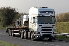 Hayward 25th October 2016 A614 Double Bridges (asdofdsa) Tags: hgv haulage transport trucks thorne eastcowick a614 scania