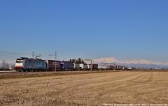 E186 103 (MattiaDeambrogio) Tags: treno treni train trains e186 103 captrain italia bls cargo railpool traxx