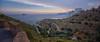 (024/17) Curvas y más curvas (Pablo Arias) Tags: pabloarias photoshop nxd cielo nubes españa arquitectura montaña ladera colina paisaje estribación risco cresta peñasco curvas mar agua mediterráneo benidorm alicante comunidadvalenciana
