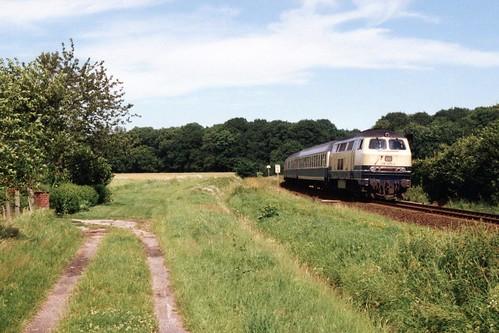 DB 216 075-2 bij Nortmoor op 12-7-1991 (SCAN)