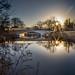 muny bridge at dawn