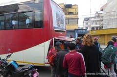P1110062 Back in Kathanmandu (3-45PM) ... getting the luggage off the Bus (ks_bluechip) Tags: nepal trel dec2016 annapurna mohare khopra muldhai abc mbc pokhara kathmandu