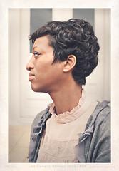 Naomi Side Profile (Proleshi) Tags: portrait woman lady side profile 50mm nikon proleshi jamal josephs face bust vintage